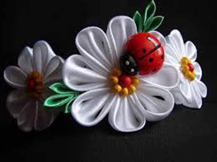 Делаем цветок ромашка своими руками из различных материалов romashki svoimi rukami 126