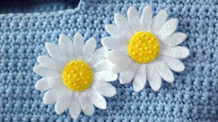 Делаем цветок ромашка своими руками из различных материалов romashki svoimi rukami 154