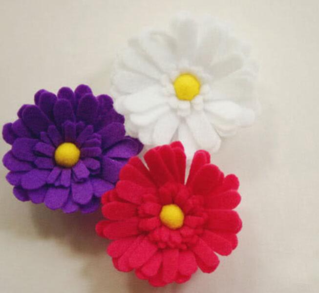Делаем цветок ромашка своими руками из различных материалов romashki svoimi rukami 162