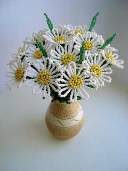 Делаем цветок ромашка своими руками из различных материалов romashki svoimi rukami 169