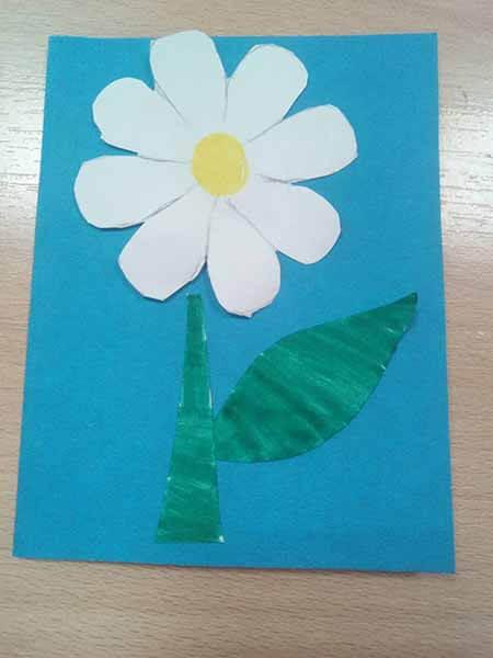 Делаем цветок ромашка своими руками из различных материалов romashki svoimi rukami 17