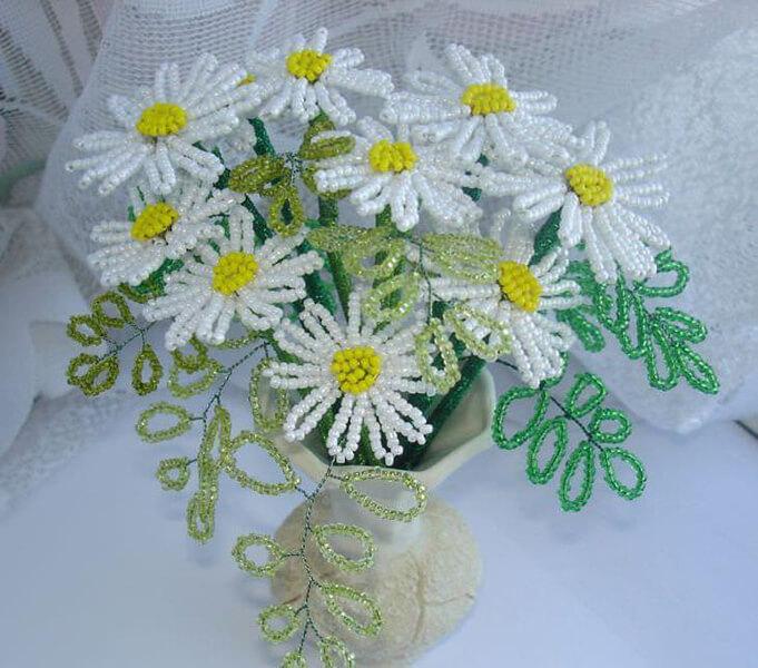 Делаем цветок ромашка своими руками из различных материалов romashki svoimi rukami 178
