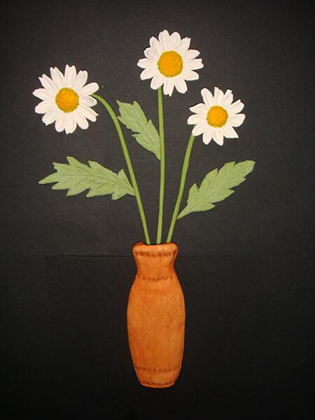 Делаем цветок ромашка своими руками из различных материалов romashki svoimi rukami 179