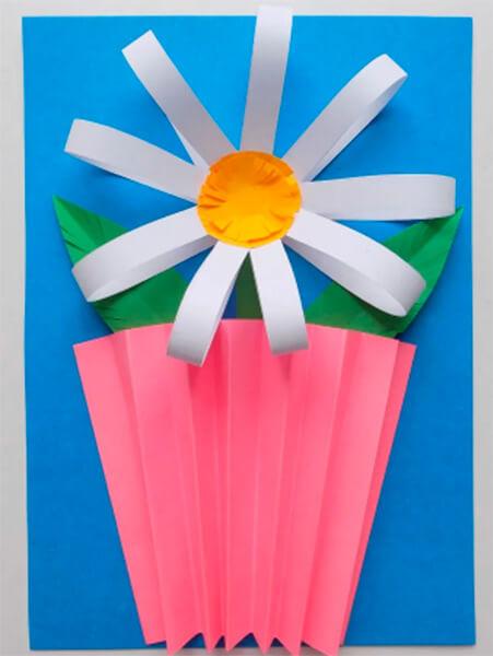 Делаем цветок ромашка своими руками из различных материалов romashki svoimi rukami 18