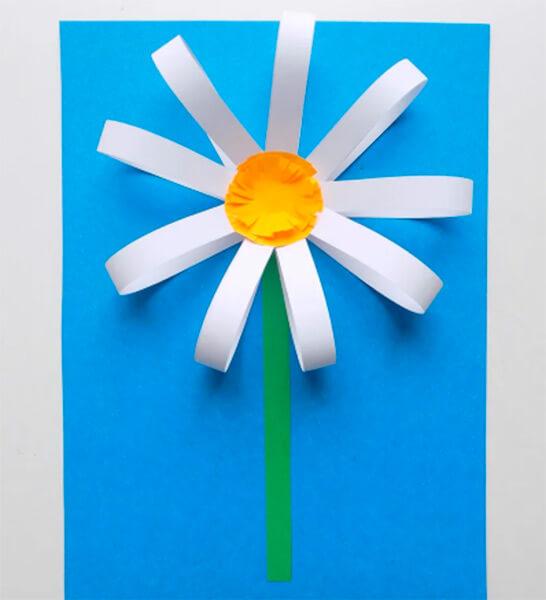 Делаем цветок ромашка своими руками из различных материалов romashki svoimi rukami 27