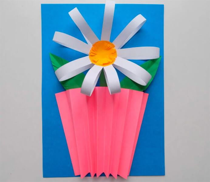 Делаем цветок ромашка своими руками из различных материалов romashki svoimi rukami 33