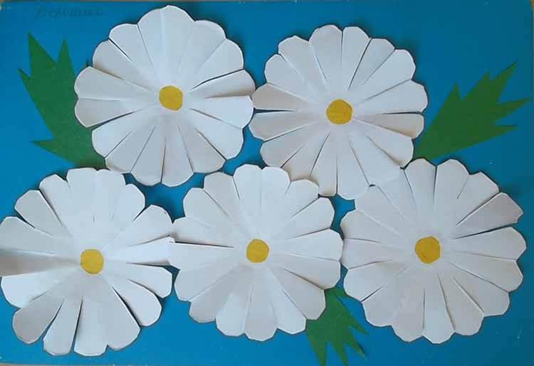 Делаем цветок ромашка своими руками из различных материалов romashki svoimi rukami 35
