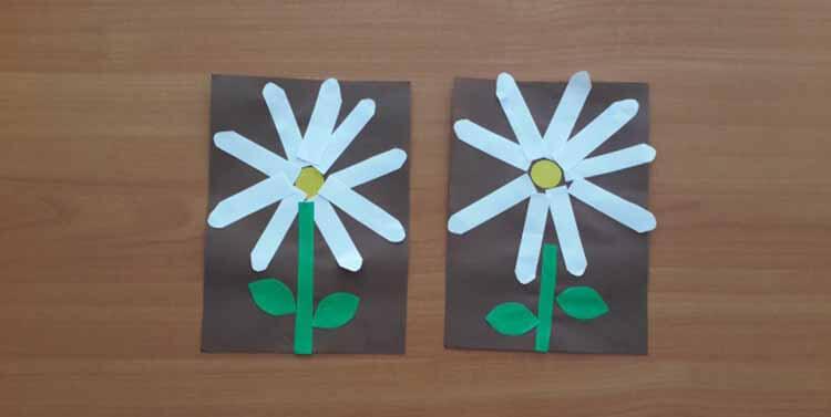 Делаем цветок ромашка своими руками из различных материалов romashki svoimi rukami 36
