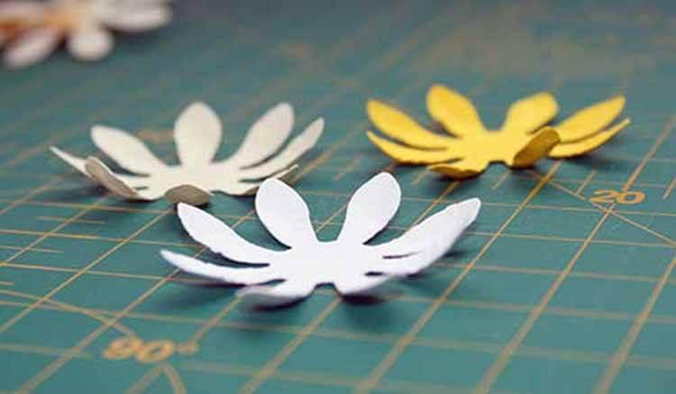 Делаем цветок ромашка своими руками из различных материалов romashki svoimi rukami 51