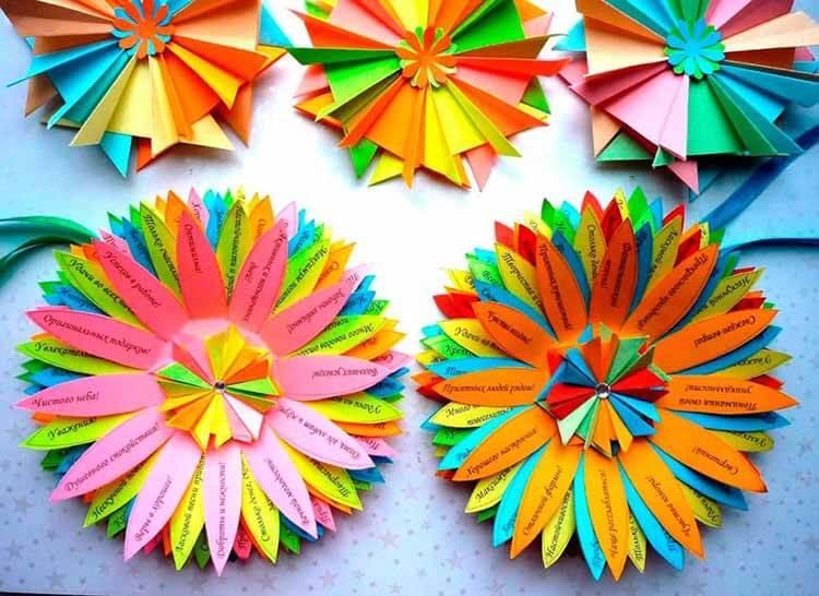 Делаем цветок ромашка своими руками из различных материалов romashki svoimi rukami 52