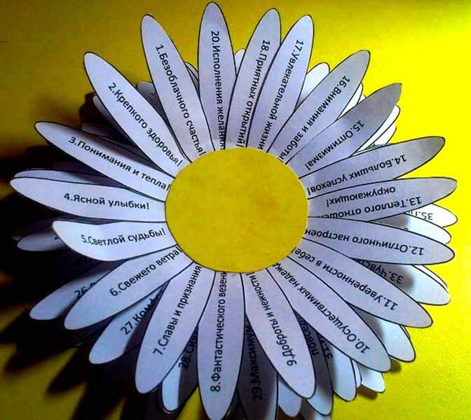 Делаем цветок ромашка своими руками из различных материалов romashki svoimi rukami 53