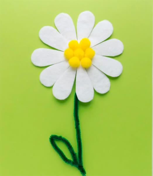 Делаем цветок ромашка своими руками из различных материалов romashki svoimi rukami 61