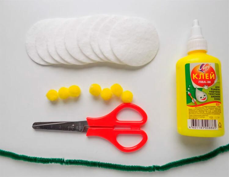 Делаем цветок ромашка своими руками из различных материалов romashki svoimi rukami 62