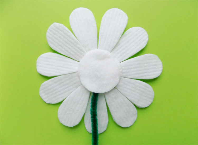 Делаем цветок ромашка своими руками из различных материалов romashki svoimi rukami 67