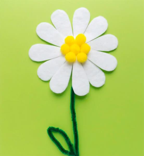 Делаем цветок ромашка своими руками из различных материалов romashki svoimi rukami 68