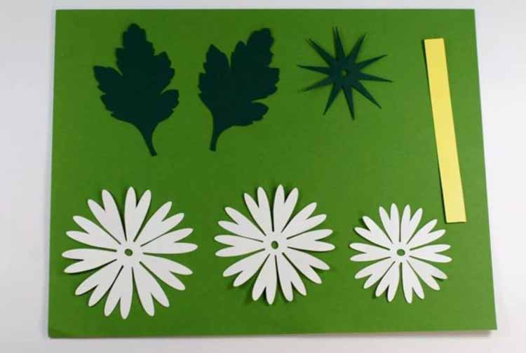 Делаем цветок ромашка своими руками из различных материалов romashki svoimi rukami 7
