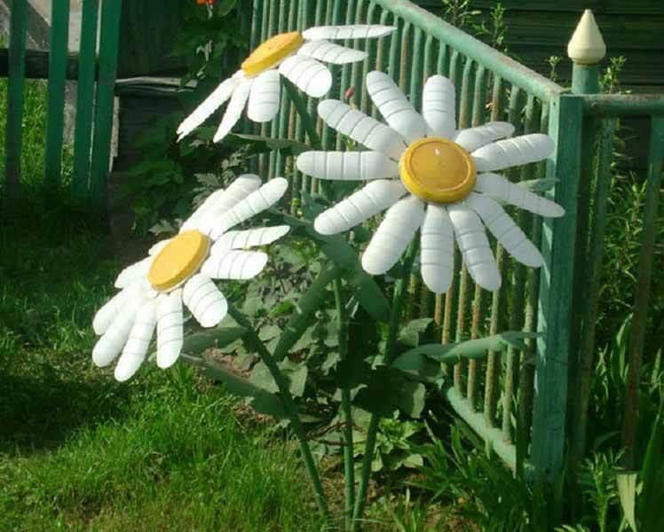 Делаем цветок ромашка своими руками из различных материалов romashki svoimi rukami 73