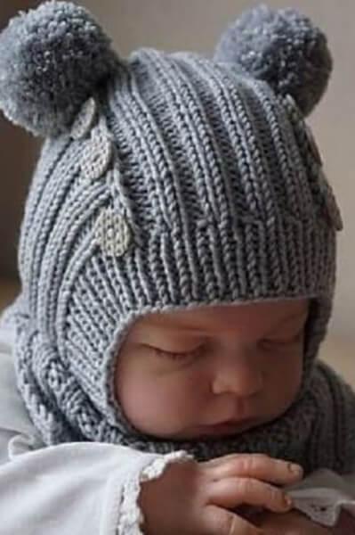 Как связать шапочку спицами для новорожденных: красивый головной убор для самых маленьких shapochka dlya novorozhdennyh spicami 18