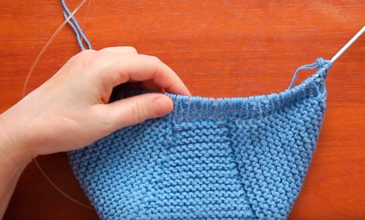 Как связать шапочку спицами для новорожденных: красивый головной убор для самых маленьких shapochka dlya novorozhdennyh spicami 26