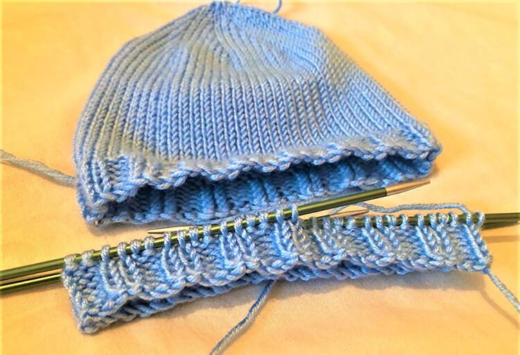 Как связать шапочку спицами для новорожденных: красивый головной убор для самых маленьких shapochka dlya novorozhdennyh spicami 37