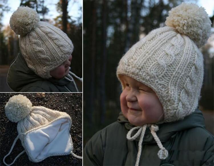 Как связать шапочку спицами для новорожденных: красивый головной убор для самых маленьких shapochka dlya novorozhdennyh spicami 45