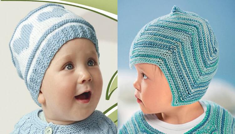 Как связать шапочку спицами для новорожденных: красивый головной убор для самых маленьких shapochka dlya novorozhdennyh spicami 48