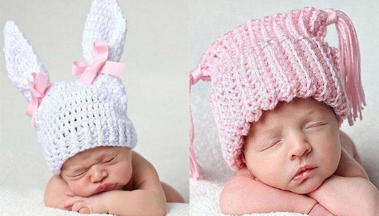 Как связать шапочку спицами для новорожденных: красивый головной убор для самых маленьких shapochka dlya novorozhdennyh spicami 49