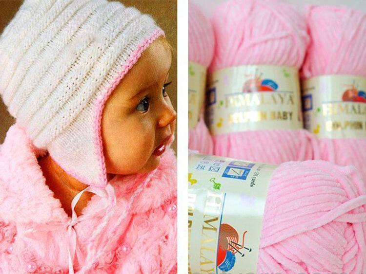 Как связать шапочку спицами для новорожденных: красивый головной убор для самых маленьких shapochka dlya novorozhdennyh spicami 5
