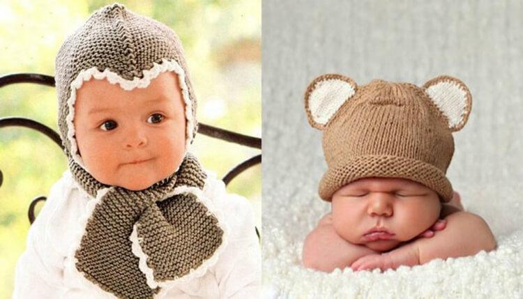 Как связать шапочку спицами для новорожденных: красивый головной убор для самых маленьких shapochka dlya novorozhdennyh spicami 50