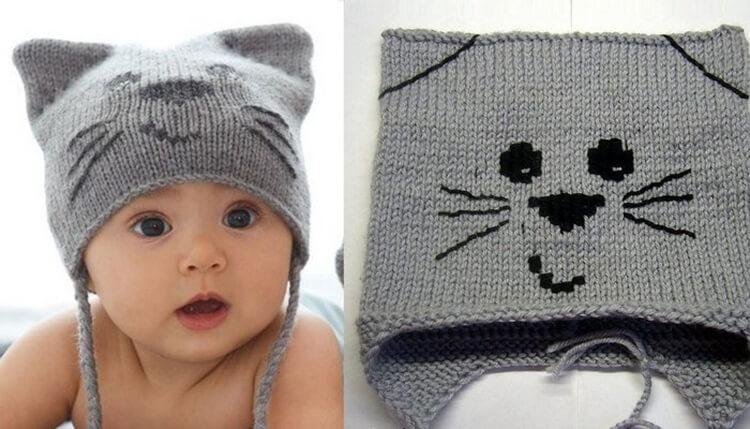 Как связать шапочку спицами для новорожденных: красивый головной убор для самых маленьких shapochka dlya novorozhdennyh spicami 52