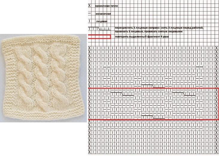 Плед для новорожденного: вяжем спицами для мальчика и девочки 33 34