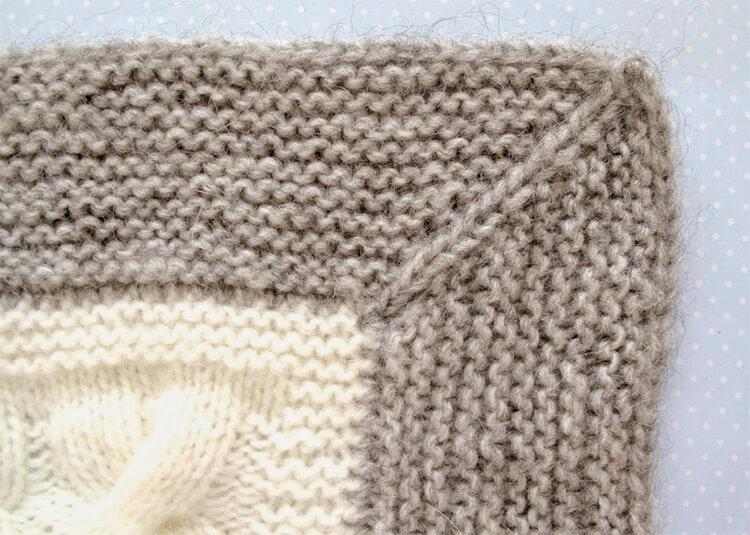 Плед для новорожденного: вяжем спицами для мальчика и девочки pled detskij spicami dlya novorozhdennyh 61