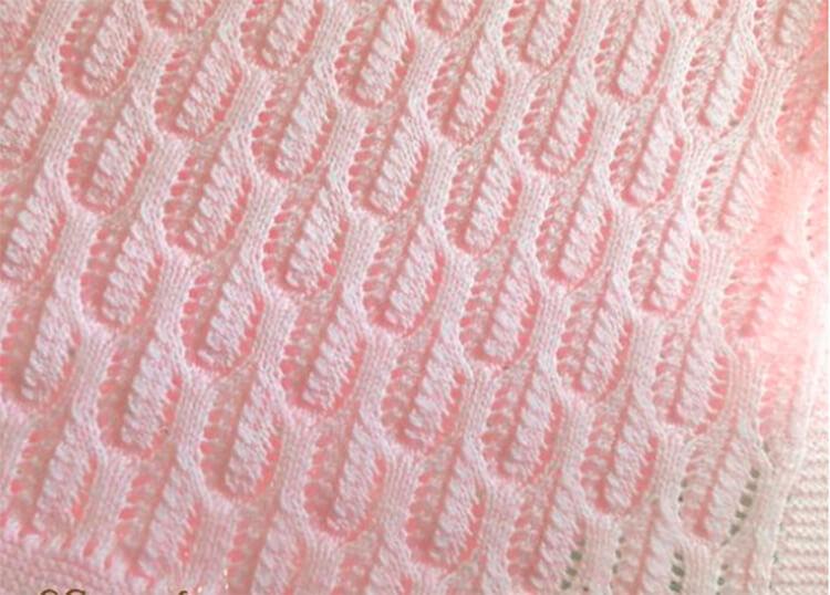 Плед для новорожденного: вяжем спицами для мальчика и девочки pled detskij spicami dlya novorozhdennyh 63