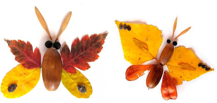Детские поделки на тему Осень из желудей для школы и садика 29 30
