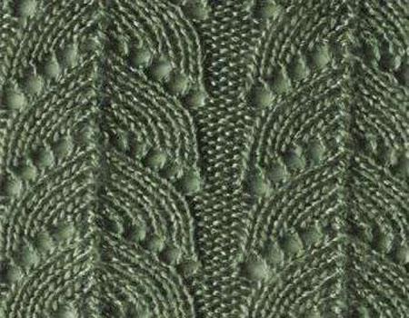 Как вязать ажурные узоры: варианты вязания со схемами и описанием azhurnye uzory spicami 147