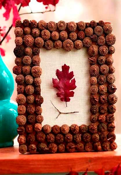 Детские поделки на тему Осень из желудей для школы и садика detskie podelki svoimi rukami iz zheludej 108