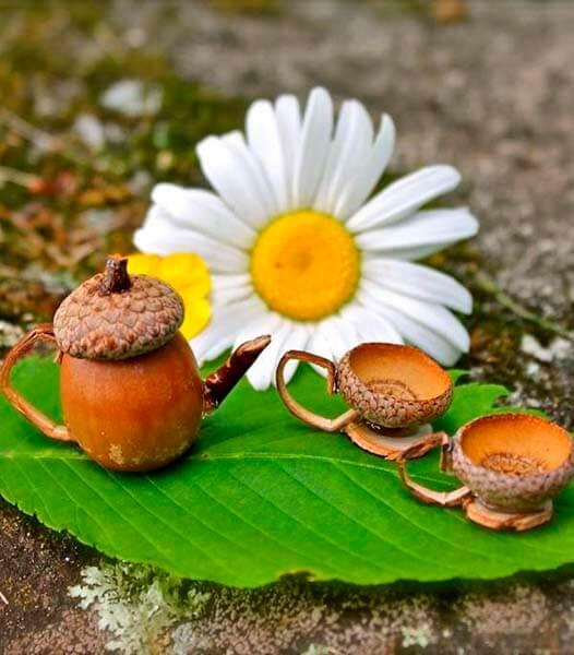 Детские поделки на тему Осень из желудей для школы и садика detskie podelki svoimi rukami iz zheludej 111
