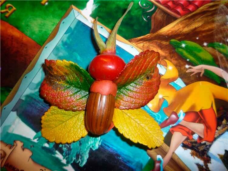 Детские поделки на тему Осень из желудей для школы и садика detskie podelki svoimi rukami iz zheludej 31