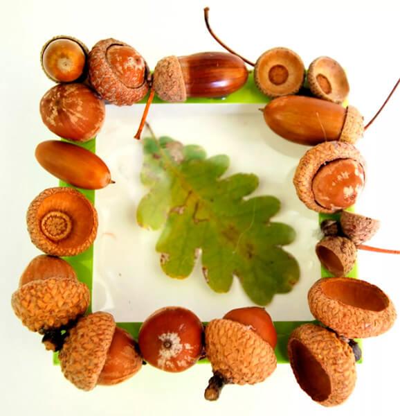 Детские поделки на тему Осень из желудей для школы и садика detskie podelki svoimi rukami iz zheludej 33