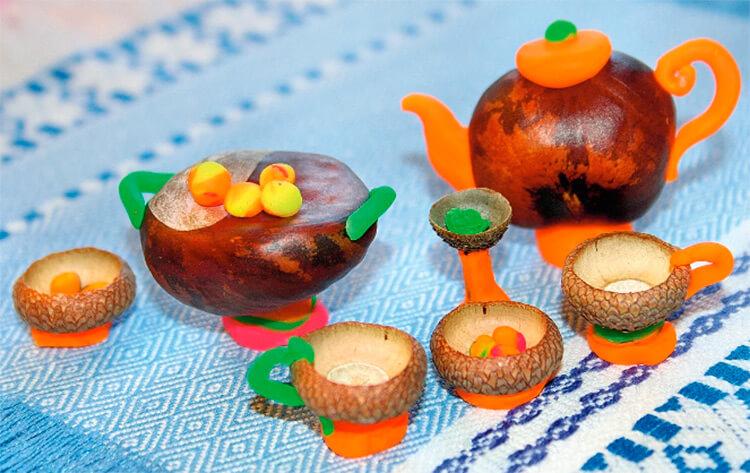 Детские поделки на тему Осень из желудей для школы и садика detskie podelki svoimi rukami iz zheludej 39