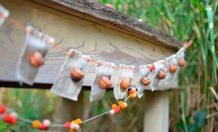 Детские поделки на тему Осень из желудей для школы и садика detskie podelki svoimi rukami iz zheludej 4