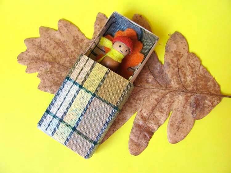 Детские поделки на тему Осень из желудей для школы и садика detskie podelki svoimi rukami iz zheludej 54