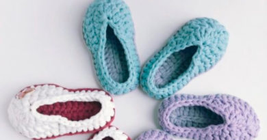 Вязаные тапочки для детей: как связать спицами