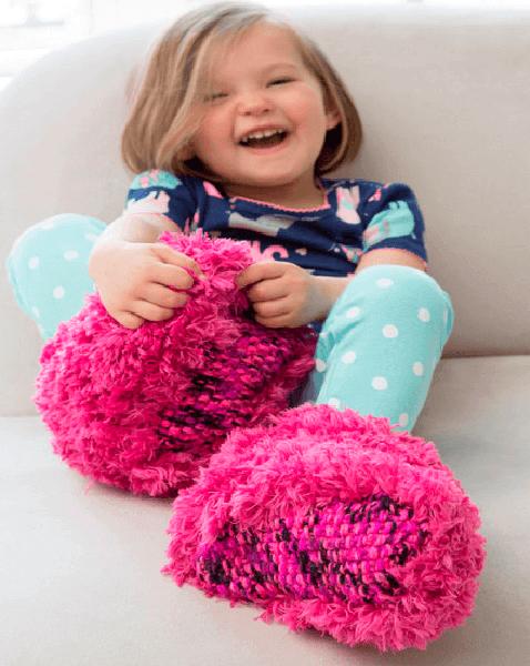 Вязаные тапочки для детей: как связать спицами vyazanye tapochki spicami dlya detej 17 1