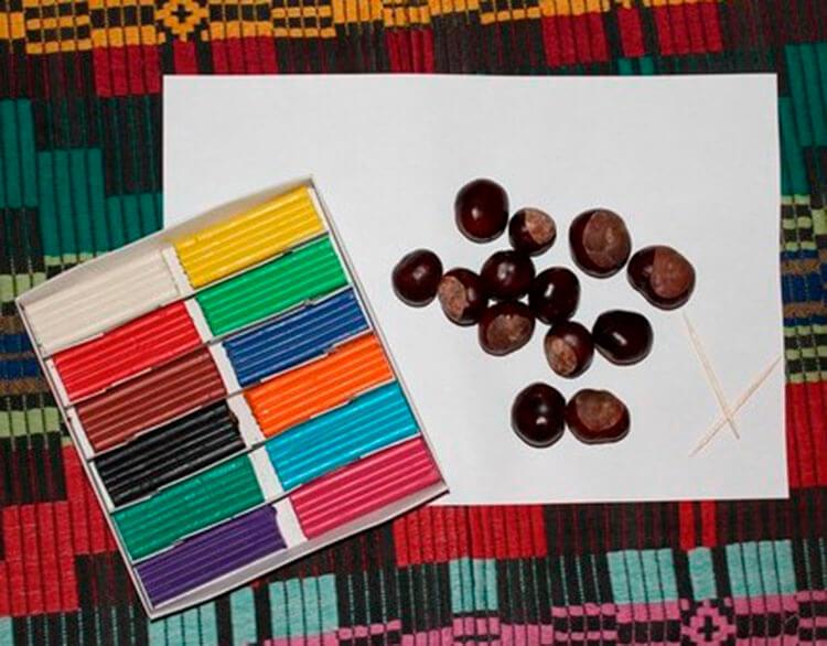 Гусеница из природного материала — различные варианты поделки с фото и описанием podelka gusenica iz prirodnogo materiala 3