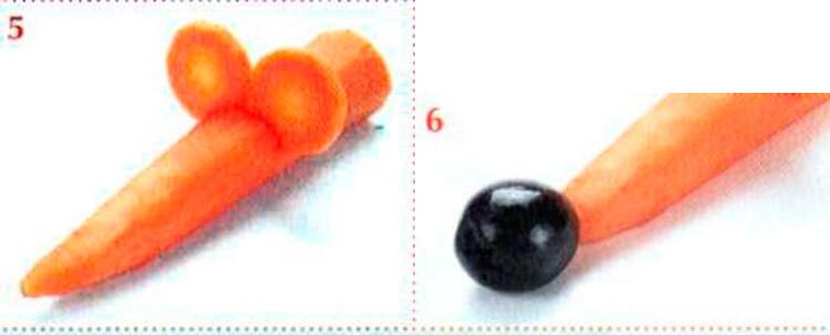 Животные из овощей и фруктов для сада и школы своими руками 107 108