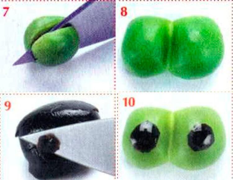 Животные из овощей и фруктов для сада и школы своими руками 109 112