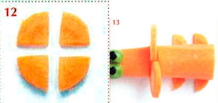 Животные из овощей и фруктов для сада и школы своими руками 114 115
