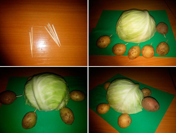 Поделки из картошки для сада и школы своими руками 57 60