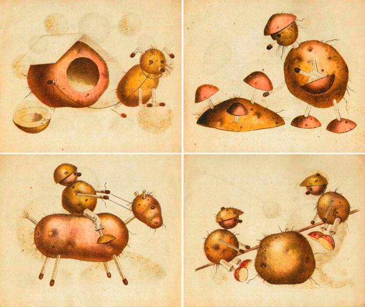 Поделки из картошки для сада и школы своими руками 6 1 4